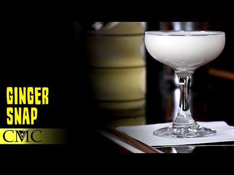 How To Make The Ginger Snap Cocktail