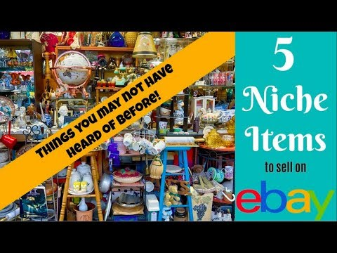 5 Niche Items to Sell on eBay: Things You Probably Don't Know!