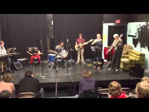 Eva Streitz on trumpet/SW jazz