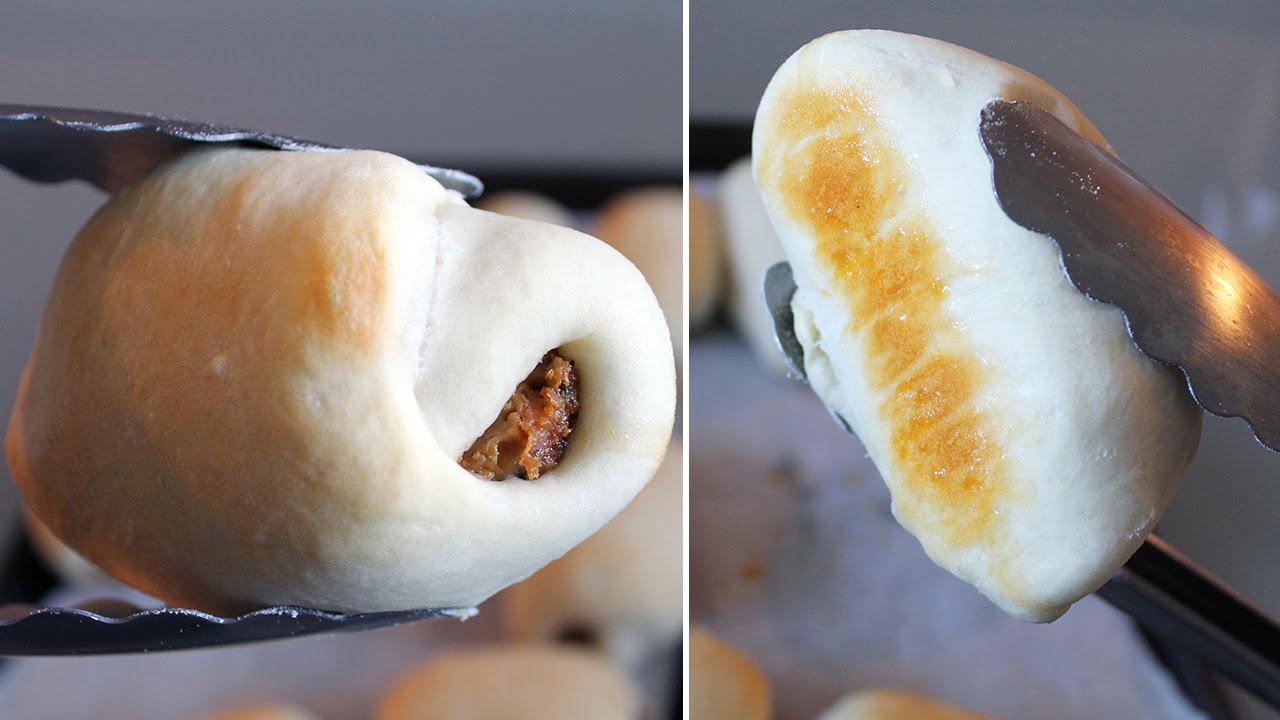 Easy Vegan Sausage Buns ( Just 5 ingredients! )