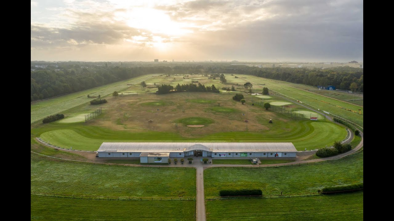Drohnen-Aufnahmen von der Galopprennbahn Bremen 1