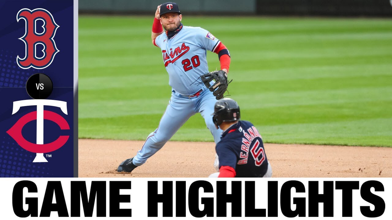 Download Red Sox vs. Twins Game Highlights (4/14/21)   MLB Highlights
