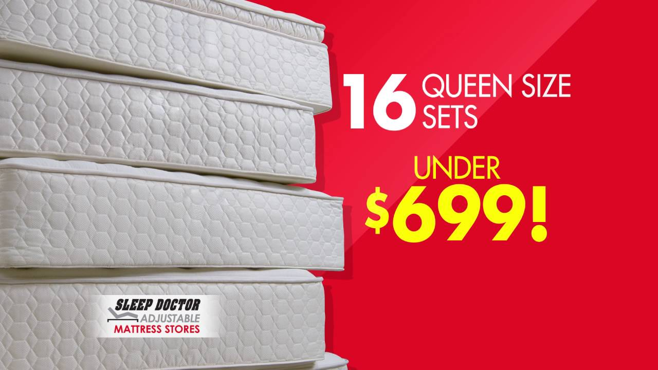 Sleep Doctor Mattress Memorial Day Sale
