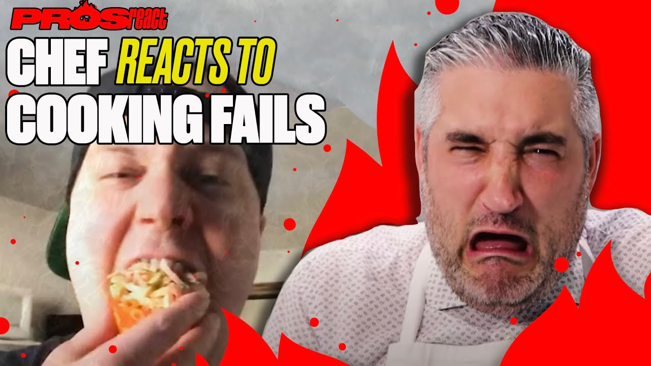 Italian Chef Reacts to BAD Italian Cooking | Pros React | LADbible
