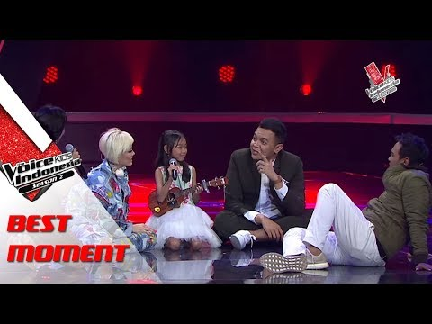 Putri & Christiano & Fany  | The Blind Auditions | The Voice Kids Indonesia Season 2 GlobalTV 2017