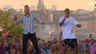 Samir och Viktor- Shuffla LIVE. Allsång på Skansen 2018