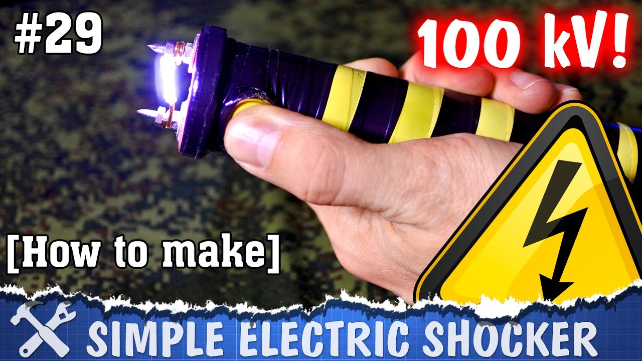 How To Make Electric Shocker Diy High Voltage Teaser Youtube Simple Electrical Circuit Doing It Yourself