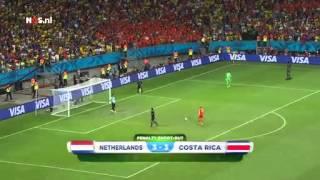 Nederland - Costa Rica penalty