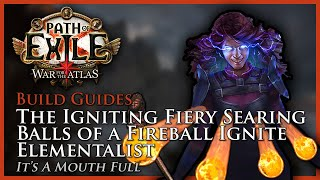path of exile 33 the fireball ignite elementalist build guide