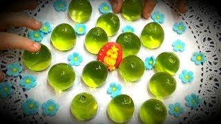 Необычные яйца.Вкусные ЖЕЛЕЙНЫЕ мини- ЯЙЦА.