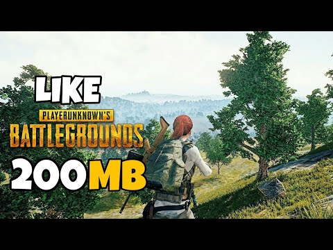 Top 10 Games Like PUBG Android 2018 [200MB]