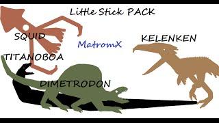 Creatures pivot stick PACK #1
