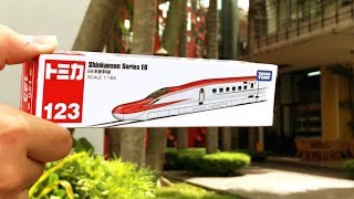 Unboxing Tomica Shinkansen Series E6多美小汽車E6系新幹線開箱