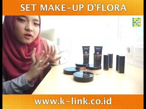 set-make-up-d'flora-nissa-sabyan-i-k-link-indonesia