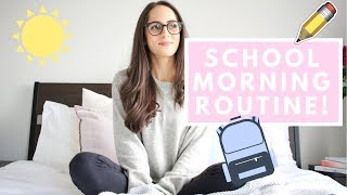 HOW TO ORGANIZE YOUR SCHOOL MORNING ROUTINE!