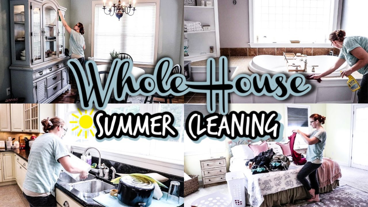 New! Whole House Extreme Clean With Me 2020 | All Day Cleaning | SAHM Motivation
