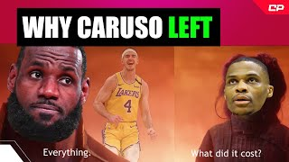 REAL Reason Lakers Let Alex Caruso Go (Not LeBron)