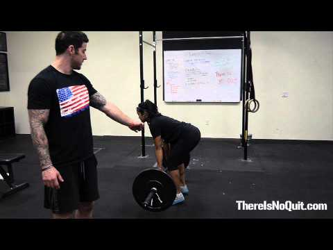 How to Do a Deadlift Properly - There Is No Quit Fitness