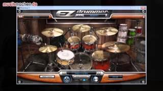 Toontrack EZX Rock! Drum-Plugin im Test auf musikmachen.de