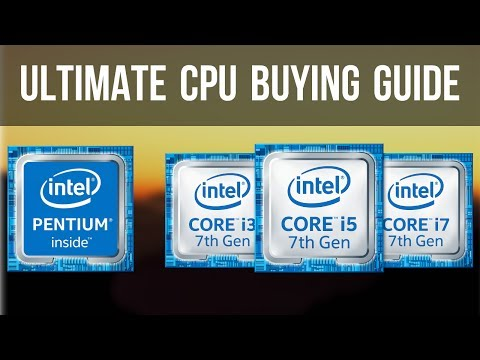 A Simple CPU Buying Guide - Intel CPUs || India