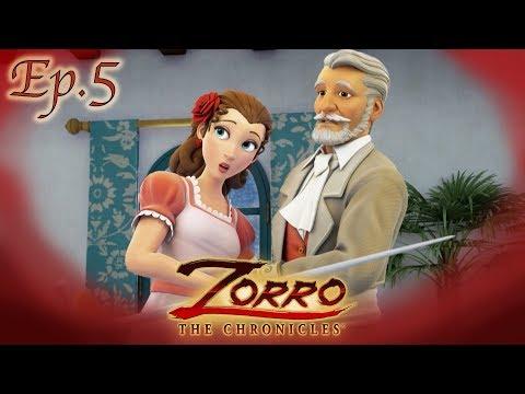 LE MAÎTRE D'ARMES | Les Chroniques de Zorro | Episode 5 | Dessin de super-héros