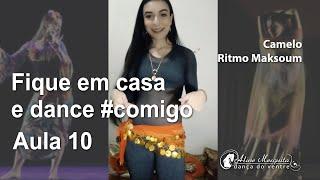 Dance #comigo Aula 10 - Camelo e ritmo maksoum | Aline Mesquita Dança do Ventre | Porto Alegre - RS