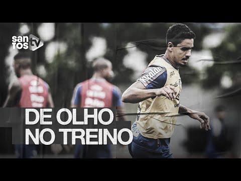 SANTOS SE PREPARA PARA O CLÁSSICO NO PACAEMBU | DE OLHO NO TREINO (27/02/20)
