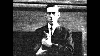 H.P Lovecraft - Two Poems for Felis