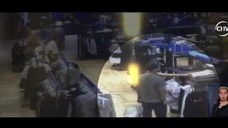 Guardia de seguridad fue sorprendido ayudando a mecheros - CHV Noticias