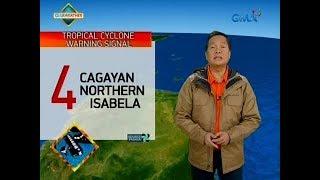 Bagyong Ompong, inaasahang mag-landfall sa Cagayan-Isabela area mamayang madaling araw