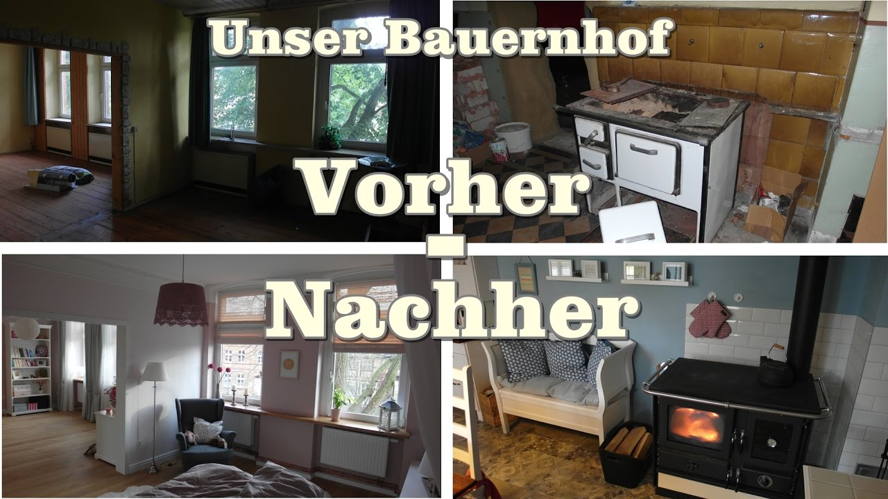 unser bauernhof vorher nachher youtube. Black Bedroom Furniture Sets. Home Design Ideas