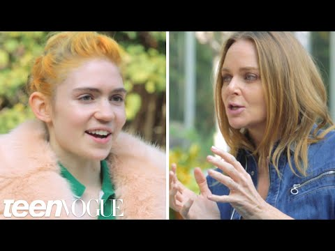 Grimes Chats with Fashion Designer Stella McCartney | Teen Vogue