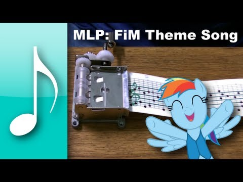Theme Song on a Music Box - My Little Pony: Friendship is Magic