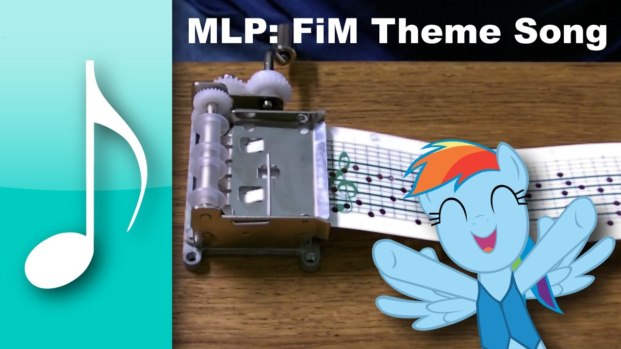 Theme Song on a Music Box - My Little Pony: Friendship is Magic - Theme Song on a Music Box - My Little Pony: Friendship is Magic