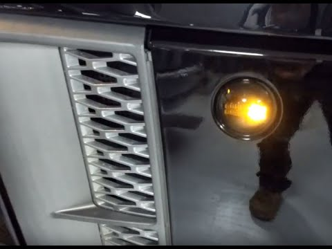 Range Rover L322 Dynamic Side Repeaters - Demo & Fitting