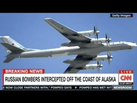 BREAKING! RUSSIAN BOMBERS INTERCEPTED OFF ALASKA! DUN! DUN! DUN!