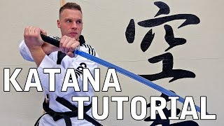 KATANA TUTORIAL BASIC SPINS