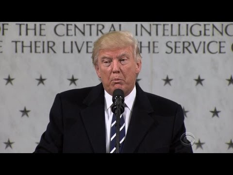 Trump blames media for rift with intelligence community