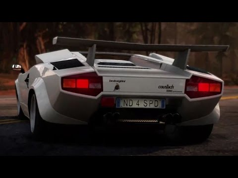 nfs hot pursuit lamborghini countach gameplay youtube. Black Bedroom Furniture Sets. Home Design Ideas