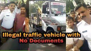 Bangalore traffic Police live corruption | viral video
