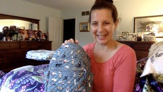 Celebrating National Cat Day With The Vera Bradley Cat's Meow Small Backpack