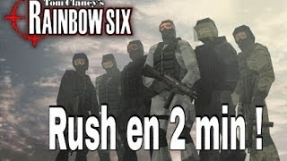 Old Game : Rainbow Six, Covert Ops | Rush en 2 minutes !