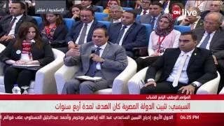 فيديو.. «السيسي»: هييجي يوم التاريخ هيعرف إيه اللي عمله الجيش لتثبيت مصر