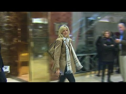 Marla Maples spotted at Trump Tower