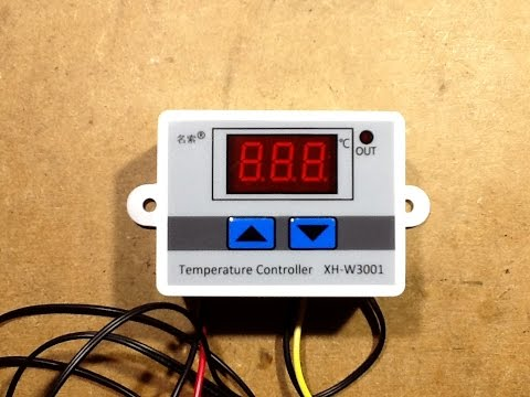 How To Set A XH-W3001 Thermostat Module, And A Look Inside.