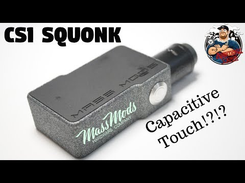 Mass Mods CS1 Squonk Mod Review & Breakdown | Capacitive Touching!?!?