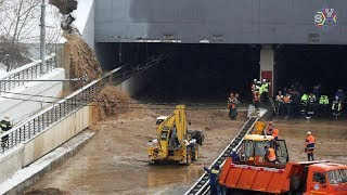 В Москве затоплен Тушинский тоннель после прорыва дамбы