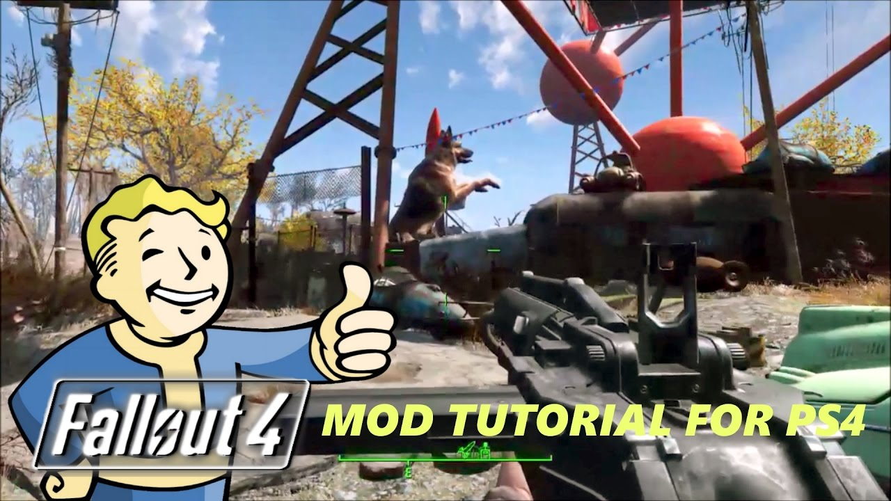 Fallout 4 (PS4 Mod Tutorial And Gameplay) How To Load Mods