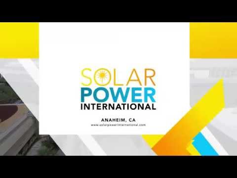 Welcome to Solar Power International!