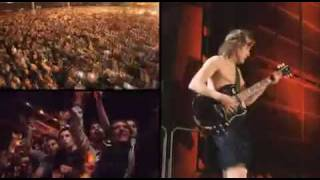 ACDC Highway To Hell sin las partes de iron man 2 Official  Live 2009 Buenos Aires argentina  dvd